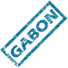 Gabon rubber stamp