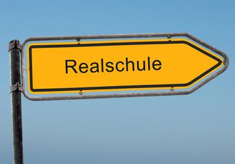 Strassenschild 38 - Realschule