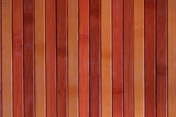 placemat colored wood
