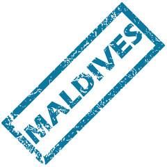Maldives rubber stamp