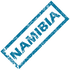 Namibia rubber stamp