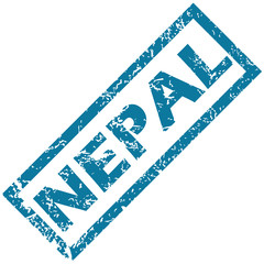 Nepal rubber stamp