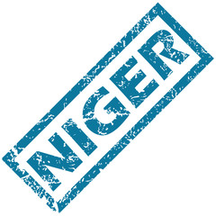 Niger rubber stamp
