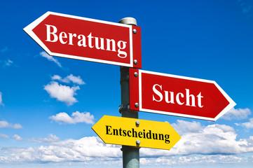 Sucht - Beratung / Wegweiser