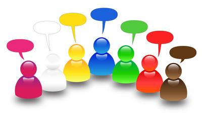 Avatar social group 3