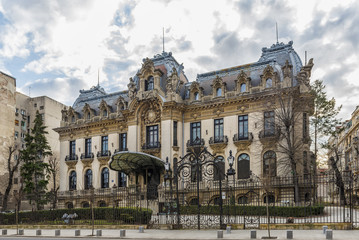 Cantacuzino Palace nowadays George Enescu National Museum in Buc