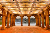 Bethesda Terrace at Night, Central Park