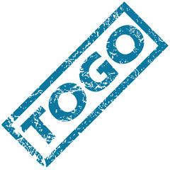 Togo rubber stamp
