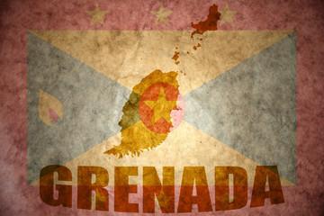 vintage grenada map