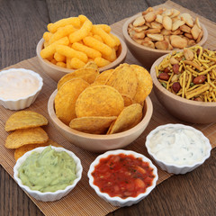 Dips and Crisps