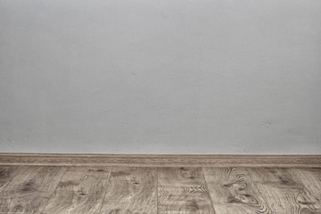 Parquet and wall