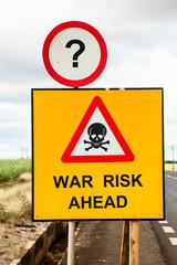 war risk ahead
