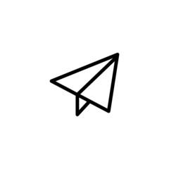 Send Trendy Thin Line Icon