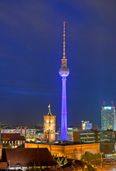 Stadtansicht Berlin von oben