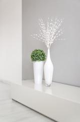 white decoration vase