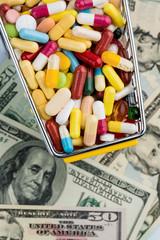 Tabletten, Einkaufswagen, Dollar