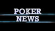POKER NEWS Text Transition, with Alpha Channel, Loop