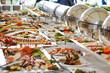 Leinwanddruck Bild - Catering food