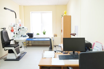 Interior ophthalmology clinic