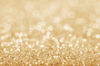 Gold defocused glitter background - 79054223