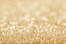 "Постер, картина, фотообои ""Gold defocused glitter background"""