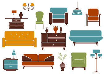 Furniture and interior design elements