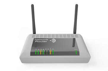White wireless router 2