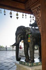 Statua Elefante - Doi Suthep - Chang mai - Thailand