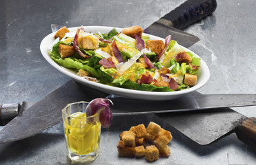 Classic Caesar Salad  (Ides of March theme)