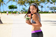 Green detox cleanse vegetable smoothie sport woman - 79057482
