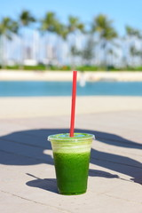 Green spinach vegetable smoothie healthy lifestyle