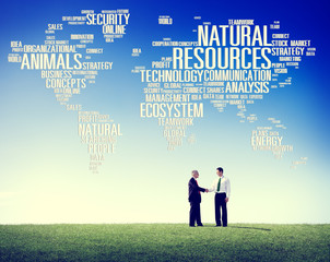 Natural Resources Environmental Sustainability Concept