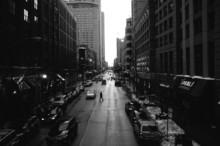 Czarno-Białe Ulice Chicago