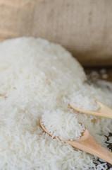 white rice  grains