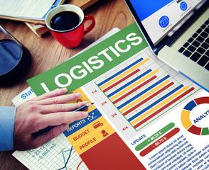 Logistics Businessman Working Thinking Planning Concept