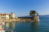 the port of Nafpaktos in Greece - 79059840