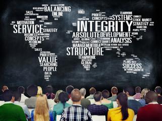 Integrity Honesty Sincerity Trust Reliability Concept