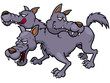 Vector illustration of Cerberus cartoon - 79062681