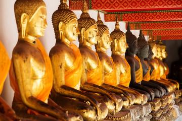 Buddhist temple, Wat Pho in Bangkok ,Asia Thailand