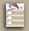 Cup Cake Shop Back Flyer Template