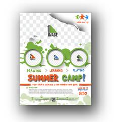 Summer Camp Flyer & Poster Template
