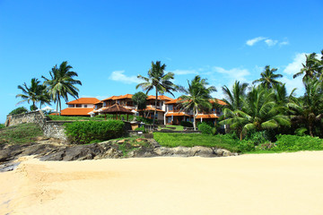 Отель Saman Villas на скале