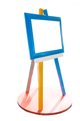 colorful blank signboard