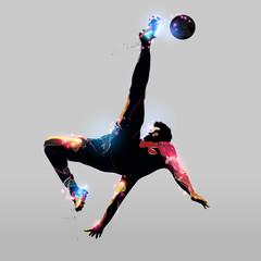 abstract over head kick