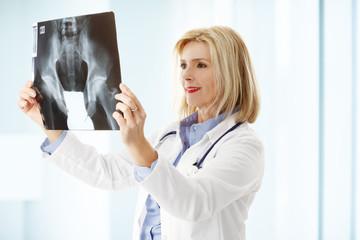 Female doctor portrait