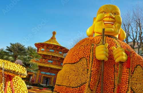 Plexiglas Carnaval fête du citron menton