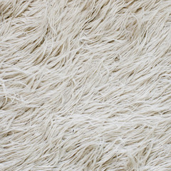 textured white big fur background