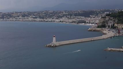 Nice harbor France Cote d'Azur