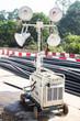 Construction site mobile spot light - 79069002