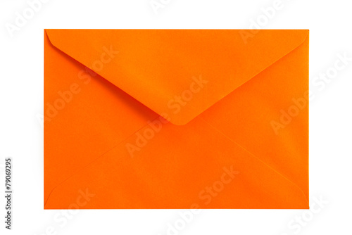 Orange envelope - 79069295